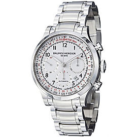 Baume & Mercier Capeland 10061 Stainless Steel Automatic Mens 42mm Watch