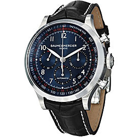 Baume & Mercier Capeland 10065 Stainless Steel Automatic Mens 44mm Watch