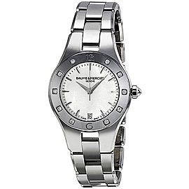 Baume & Mercier Linea 10071 Stainless Steel Quartz Womens 32mm Watch
