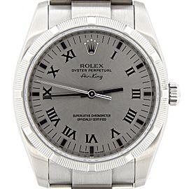 Rolex Air-King 114210 34mm Mens Watch