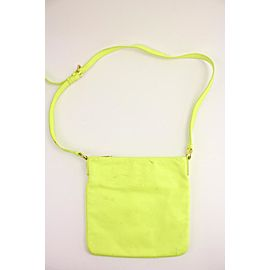 Marc by Marc Jacobs Neon Yellow Too Hot To Handle Sia Crossbody Bag 251mj56