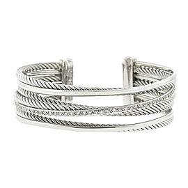 David Yurman Four Row Cuff Bracelet