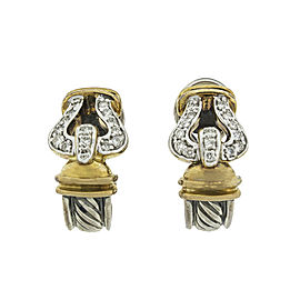 David Yurman Cable Buckle Earrings David Yurman Cable Buckle Earrings