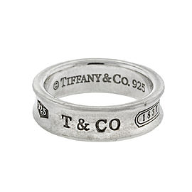 Tiffany & Co. 1837 Sterling Silver Ring