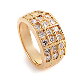 Mauboussin 18K Yellow Gold Diamond Band Ring