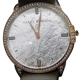 Harry Winston Midnight MIDQHM39RR004 39mm Womens Watch