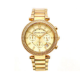 Michael Kors Parker MK5354 Gold Tone Stainless Steel 39mm Womens Watch