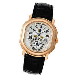 "Daniel Roth ""Moon Phase Perpetual Calendar"" 18K Rose Gold Watch"