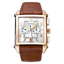 "Girard Perregaux ""Vintage 1945"" 18K Rose Gold Chronograph Watch"