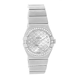 Omega Constellation 123.15.27.60.52.001 Stainless Steel wDiamond Quartz 27mm Womens Watch
