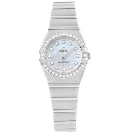 Omega Constellation 1589.75.00 Stainless Steel 27mm Womens Watch