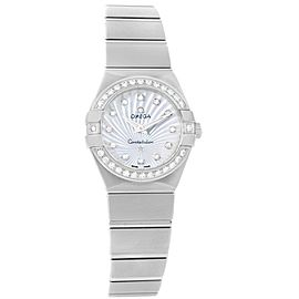 Omega Constellation 123.15.24.60.55.004 Mother of Pearl Womens Diamond Watch
