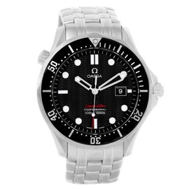 Omega Seamaster 212.30.41.61.01.001 Stainless Steel Black Dial Quartz 41mm Mens Watch
