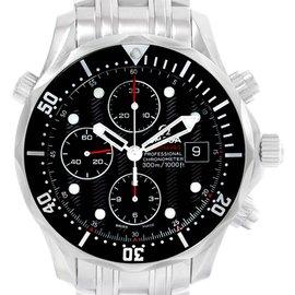Omega Seamaster 300M Chronograph Watch 213.30.42.40.01.001 Box Card