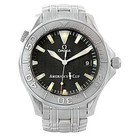 Omega Seamaster 2533.50.00 Stainless Steel/18K White Gold Automatic 41.5mm Mens Watch