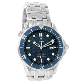 Omega Seamaster Bond 300M 2221.80.00 Stainless Steel 41mm Quartz Mens Watch