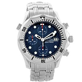 Omega Seamaster 2598.80.00 Stainless Steel Blue Dial Automatic 41.5mm Mens Watch