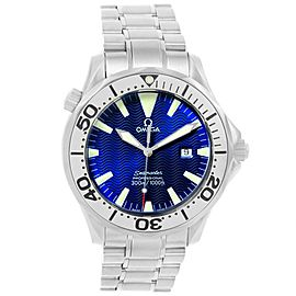 Omega Seamaster 2265.80.00 Stainless Steel & Electric Blue Dial 41mm Mens Watch