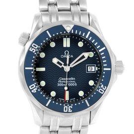 Omega Seamaster 2561.80.00 Stainless Steel Quartz 36mm Mens Watch