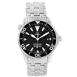Omega Seamaster 2262.50.00 Stainless Steel & Black Dial 36.25mm Mens Watch