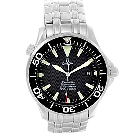 Omega Seamaster 2254.50.00 Stainless Steel & Black Wave Dial 41mm Mens Watch