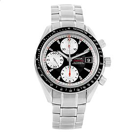 Omega Speedmaster Date 3210.51.00 Stainless Steel Black/Silver Dial Automatic 40mm Mens Watch