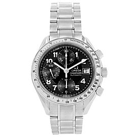Omega Speedmaster 3513.52.00 Stainless Steel Black Arabic Dial Automatic 39mm Mens Watch