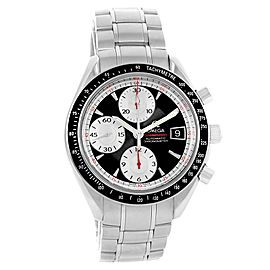 Omega Speedmaster Day Date 3210.51.00 Stainless Steel Black Dial Automatic 40mm Mens Watch