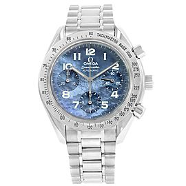Omega Speedmaster 3502.73.00 Stainless Steel Blue MOP Dial Automatic 39mm Mens Watch