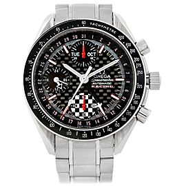 Omega Speedmaster Schumacher Day Date 529.50.00 Stainless Steel 39mm Automatic Mens Watch