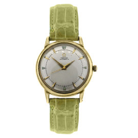Omega Seamaster Deville Gold Filled 34mm Mens Watch