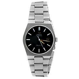 Omega Automatic Geneve Black Dial Watch