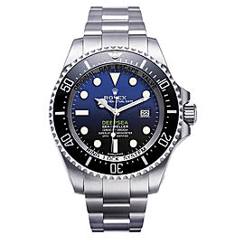 Rolex Deepsea 116660 Stainless Steel Blue Dial 44mm Mens Watch