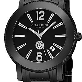 Charriol Date 42mm Mens Watch