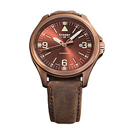 Traser Officer Pro Automatic Bronze Brown 108073