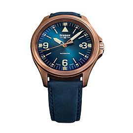 Traser Officer Pro Automatic Bronze Blue 108074