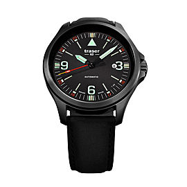 Traser Officer Pro Automatic Black 108075