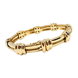 Tiffany & Co. 18K Yellow Gold Atlas Link Bracelet