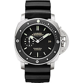 Panerai Luminor Titanium / Rubber Automatic 47mm Mens Watch