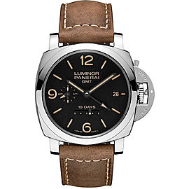 Panerai Luminor PAM00533 Stainless Steel / Leather 44mm Mens Watch