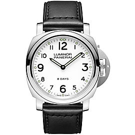 Panerai Luminor Stainless Steel / Leather 44 mm Mens Watch
