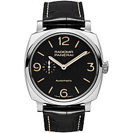 Panerai Radiomir Stainless Steel / Leather Automatic 45mm Mens Watch