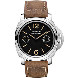 Panerai Luminor Marina Stainless Steel / Leather 44 mm Mens Watch