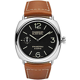 Panerai Radiomir PAM00609 Stainless Steel / Leather 45mm Mens Watch