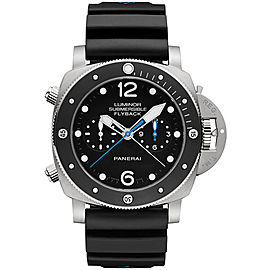Panerai Luminor Submersible Titanium / Rubber Automatic 47mm Mens Watch