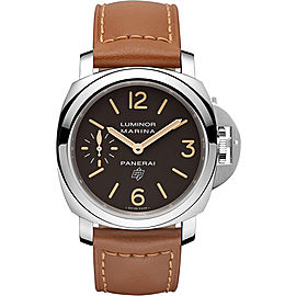 Panerai Luminor Marina Stainless Steel / Leather 44mm Mens Watch