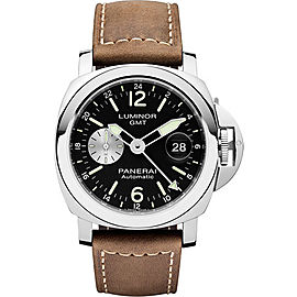 Panerai Luminor PAM01088 Stainless Steel / Leather Automatic 44mm Mens Watch