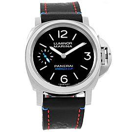 Panerai Luminor PAM00724 Stainless Steel & Leather Manual 44mm Mens Watch