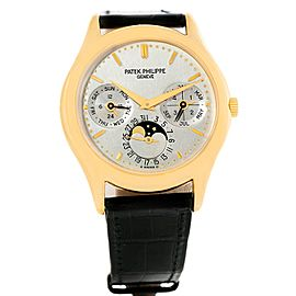 Patek Philippe Complications Perpetual Calendar 3940 18K Yellow Gold 36mm Mens Watch
