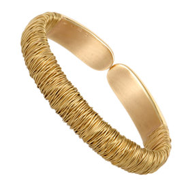 Pasquale Bruni 18K Yellow Gold Bangle Bracelet